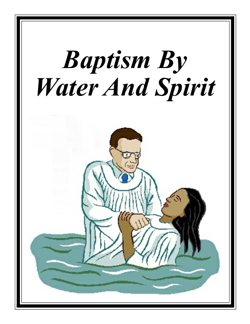 A tract on understanding baptism according to Bible scriptures