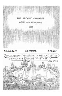 Church of God second quarter 2015 lesson book cover
