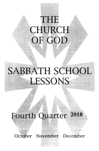 Adult lessons for fourth quarter 2018